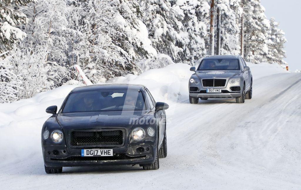 La nueva generación del Bentley Flying Spur continúa sus pruebas para ser comercializado en 2019
