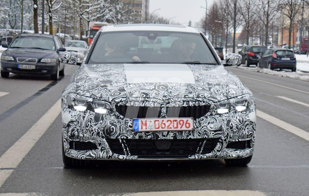 Nuevas fotos espía del nuevo BMW Serie 3 dejan ver dos unidades más destapadas