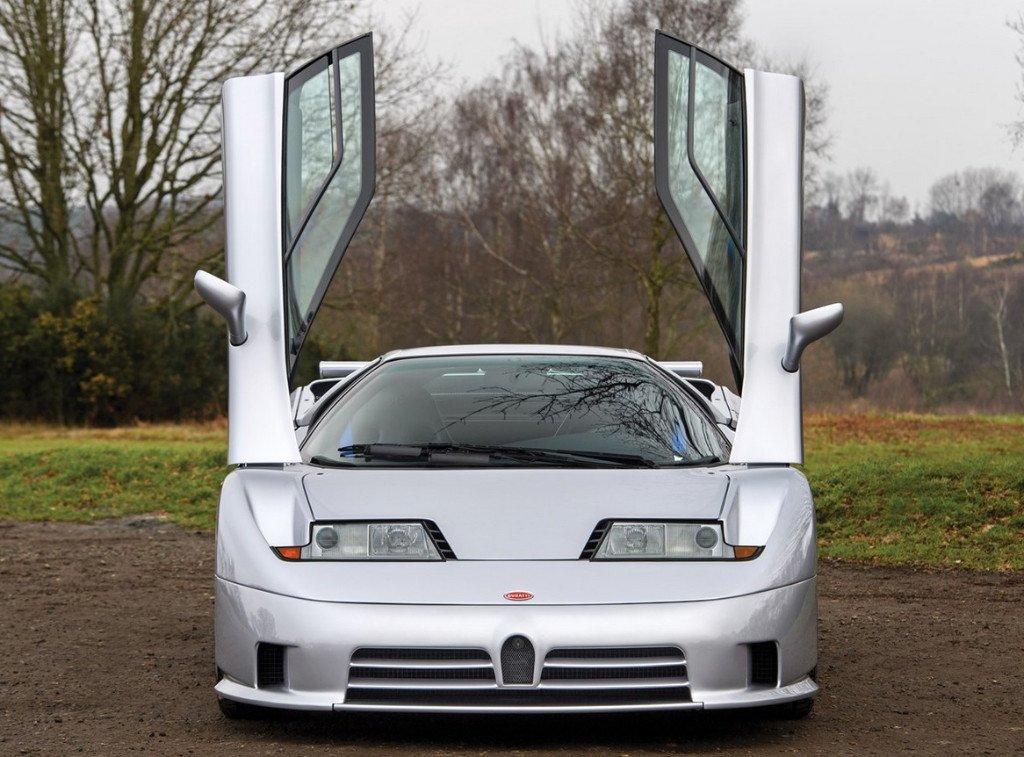 Un prototipo superviviente del Bugatti EB110 SS vendido por 1.15 millones