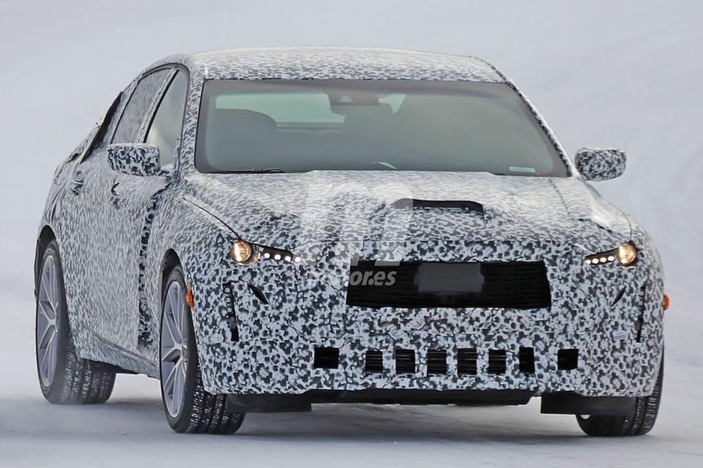2020 - [Cadillac] CT5 Cadillac-ct5-2020-fotos-espia-nieve-201843346_9