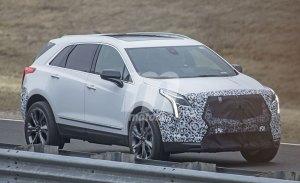Primeras fotos espías del futuro Cadillac XT5 V-Sport que llegará en 2019