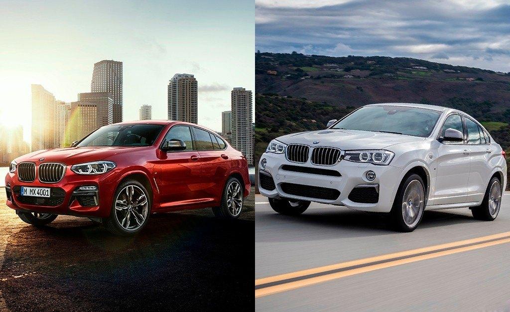 ¿Qué ha cambiado en el diseño del BMW X4? Comparamos ambas generaciones