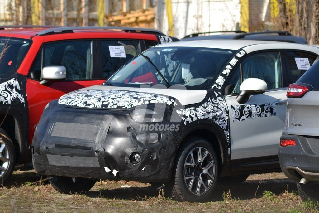 Un nuevo vistazo al Fiat 500X 2019, el lavado de cara del SUV italiano
