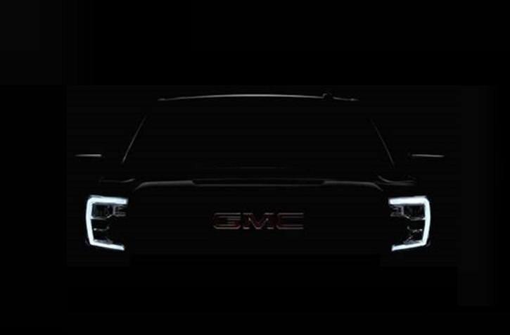 La primera imagen del GMC Sierra 2019 antes de su presentación