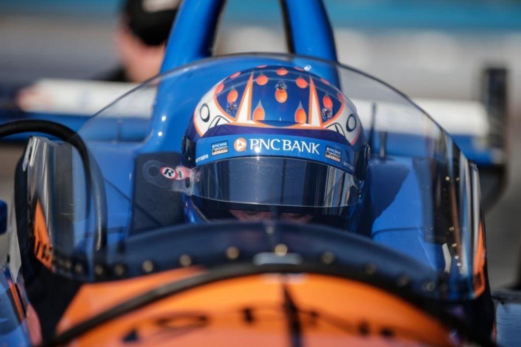 [Vídeo] Scott Dixon estrena el 'windscreen' en Phoenix