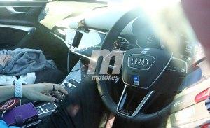 Un vistazo al interior del Audi A6 Avant 2019 mientras continúa su desarrollo