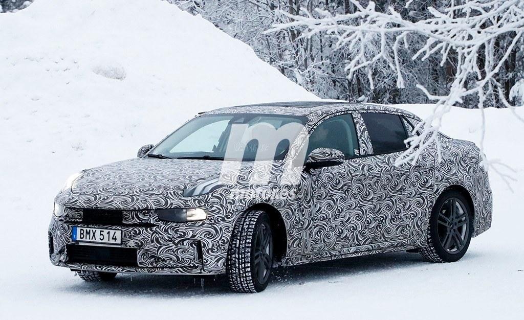 El esperado Lynk & Co 03 se enfrenta al frío y la nieve en Europa
