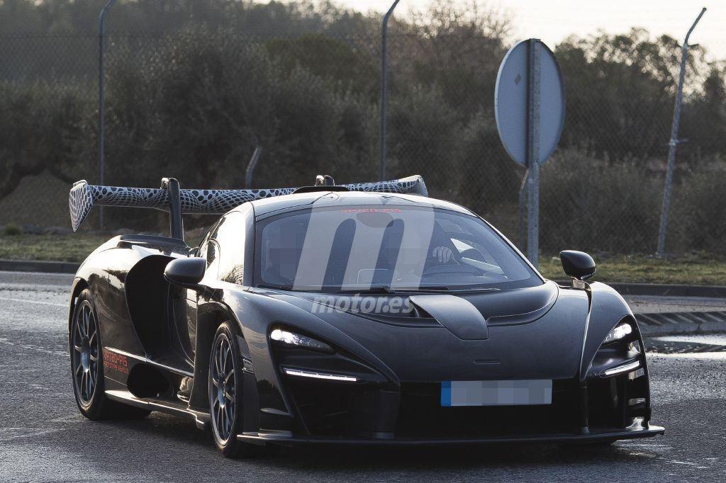 Uno de los últimos prototipos del McLaren Senna cazado en España