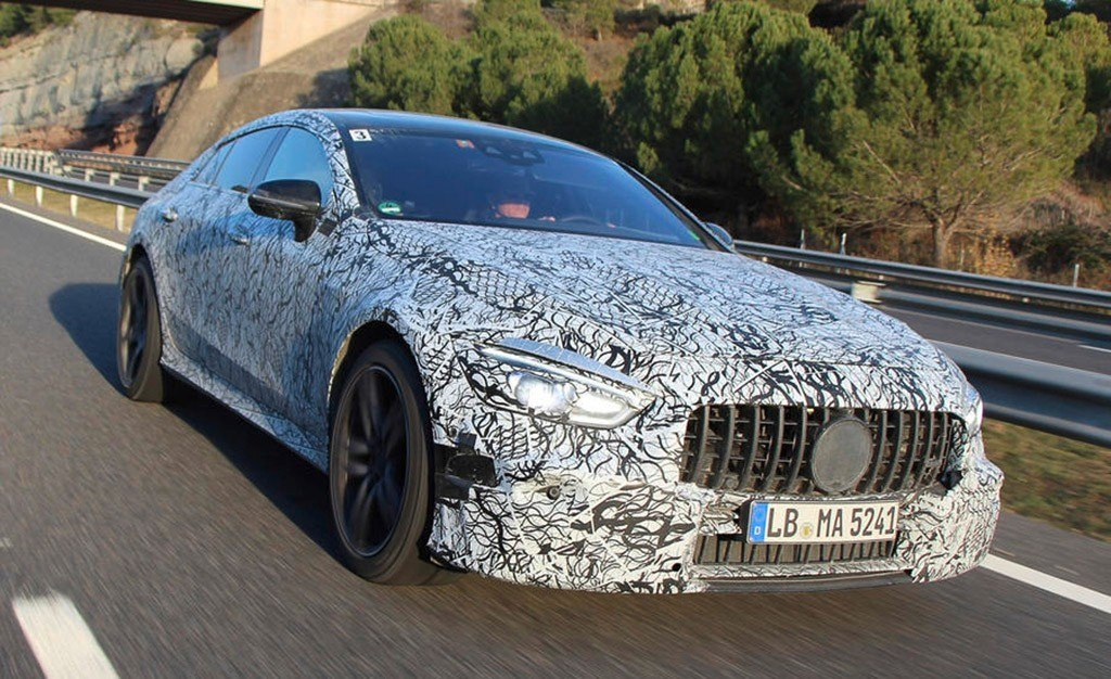 Mercedes muestra parte del desarrollo del AMG GT de 4 puertas