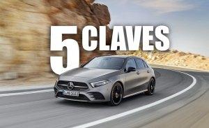Las 5 claves del nuevo Mercedes Clase A 2018: renovación tecnológica