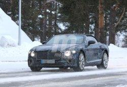 La nueva generación del Bentley Continental GTC apura sus tiempos de pruebas