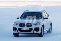 El nuevo BMW X3 iPerformance PHEV cazado completamente al desnudo