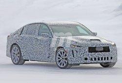 El nuevo Cadillac CT5 comienza con sus pruebas de invierno