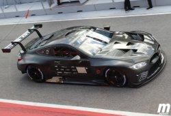 El BMW M8 GTE también está de test en Portimao