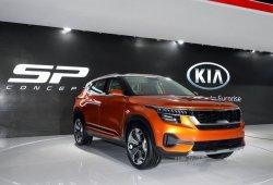 El Kia SP Concept debuta oficialmente en el Salón de Nueva Delhi