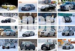 Lynk & Co 04, Toyota RAV4 2019 y MINI Eléctrico: fotos espía Enero 2018