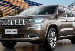 Las especificaciones del Jeep Grand Commander filtradas desde China