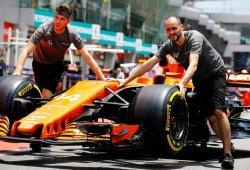 McLaren estima mejoras de casi 1 segundo por vuelta con los neumáticos de 2018