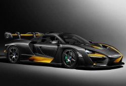 El nuevo McLaren Senna se viste con el traje «Carbon Theme» de MSO