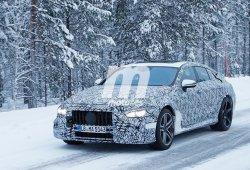 Mercedes-AMG GT Coupé: así se llamará la berlina deportiva de cuatro puertas
