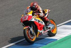 Márquez lidera el doblete de Honda en el test MotoGP de Buriram