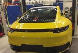 Filtrado el nuevo Porsche 911 generación 992