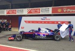 Toro Rosso descubre el STR13 e inicia su etapa con Honda