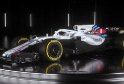 Williams desvela el FW41, su Fórmula 1 de 2018