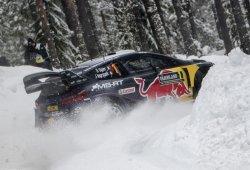 Ogier deja una rodera en la normativa del WRC