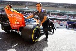 Vive el test de pretemporada con McLaren y Alonso