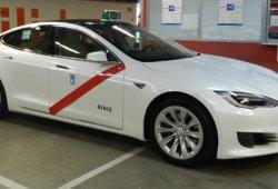El Tesla Model S es autorizado como taxi en Madrid
