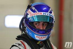Alonso afronta su primera simulación nocturna con Toyota en Portimao