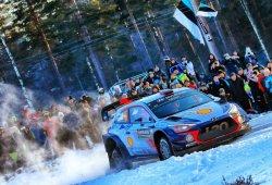 Neuville lidera el shakedown que inicia el Rally de Suecia