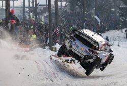 Thierry Neuville se escapa al frente del Rally de Suecia