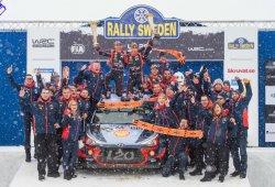 Histórico triunfo de Thierry Neuville en el Rally de Suecia