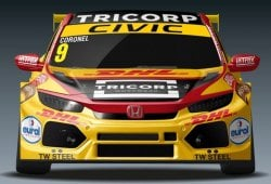 Tom Coronel, rumbo al WTCR con Boutsen Ginion Racing