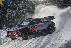 Hyundai marca triplete en el drama de Ogier en Suecia