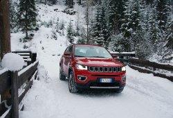 Italia - Enero 2018: El Jeep Compass roza el Top 10