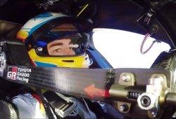 [Vídeo] Alonso con el Toyota TS050 Hybrid en MotorLand