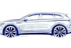 Ya es oficial: el nuevo Volkswagen Touareg debutará en el Salón de Pekín 2018