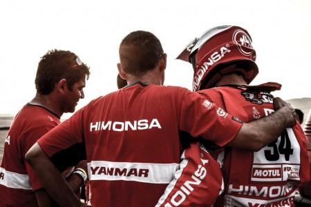 El equipo Himoinsa se apaga, adiós a 'La Roja' del Dakar