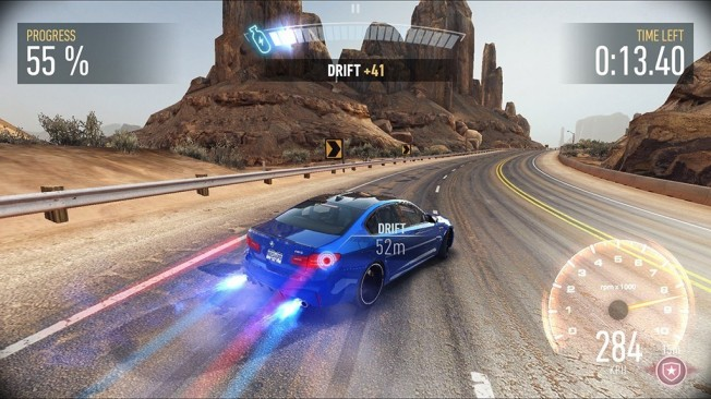 BMW M5 en Need for Speed No Limits