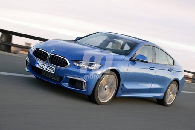 BMW Serie 2 Gran Coupé - recreación