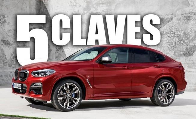 Las 5 claves del BMW X4 2018