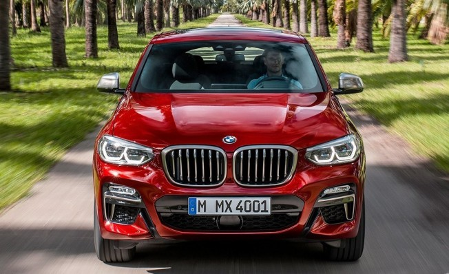 BMW X4 2018 - frontal