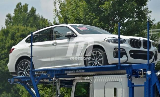 BMW X4 2018 - foto espía