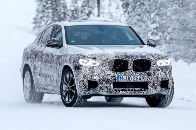 BMW X4 M 2019 - foto espía