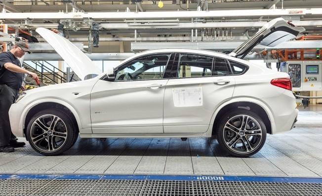 Producción del BMW X4 F26