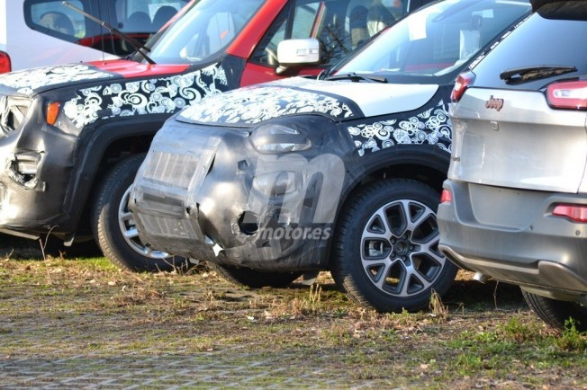 Fiat 500X 2019 - foto espía