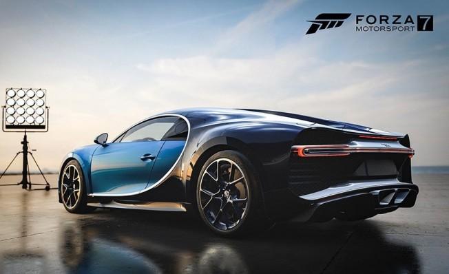 Bugatti Chiron en Forza Motorsport 7